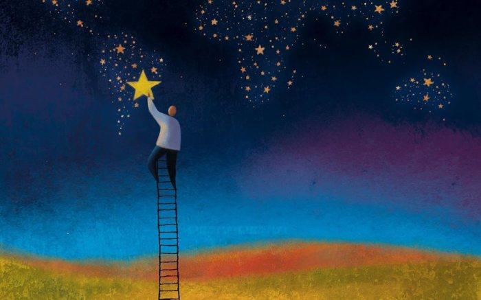 A noite acendeu as estrelas porque tinha medo da própria escuridão_Mario Quintana