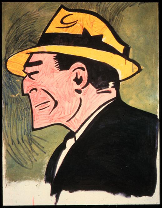A. Warhol, Dick Tracy
