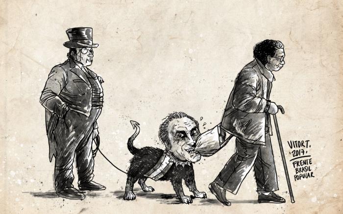Temer-Cão-Aposentadoria