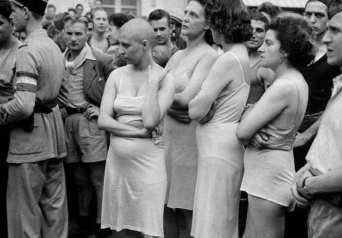 O Triste fim das viuvas da ocupação nazista