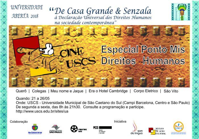 Chamada Cines USCS MIS